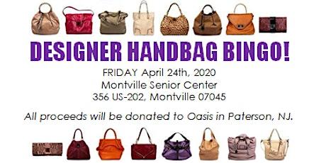 Designer Handbag Bingo - 2020 tickets