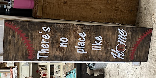 No Place like Home 4ft Sign