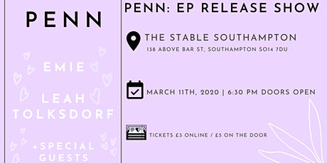 PENN: EP Release Show tickets