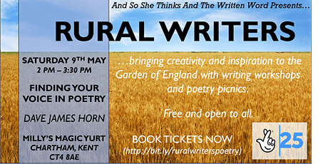 Rural Writers - Finding your voice through poetry with Dave Horn tickets