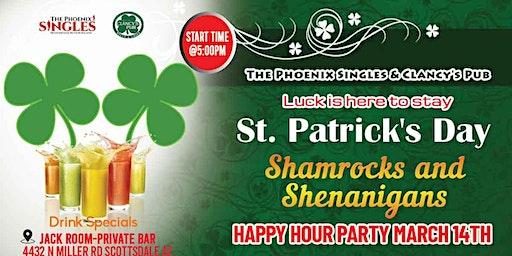 Phoenix Singles and Clancy's Pub Shamrocks and Shenanigans Weekend