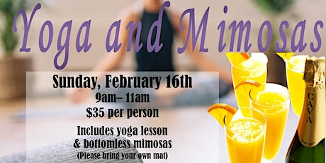 Yoga and Mimosas billets