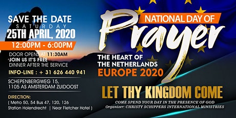 NATIONAL DAY OF PRAYER 2020 tickets