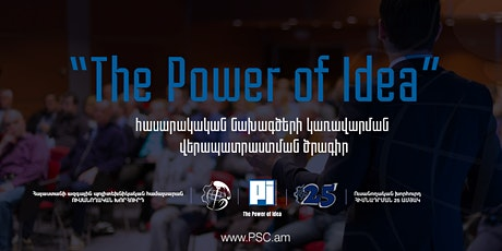 The Power of Idea tickets