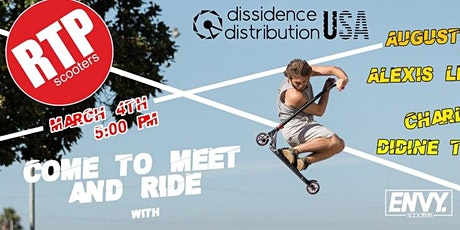 Meet and Ride with Pro Scooter Riders from Ethic DTC and Envy Scooters tickets