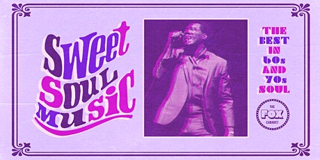 Sweet Soul Music tickets
