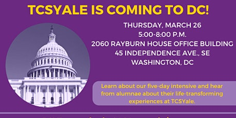 TCSYale DC Prospective Student Event tickets
