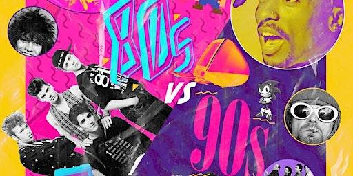 80s vs 90s Night