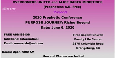 2020 PROPHETIC CONFERENCE
