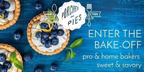 Porches & Pies Festival Bake-Off 2020 Contestant Entry tickets