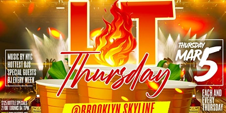 LIT THURSDAY tickets