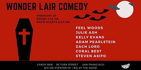 Wonder Lair Comedy Show tickets