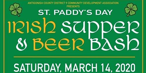St. Paddy's Day Supper and Beer Bash
