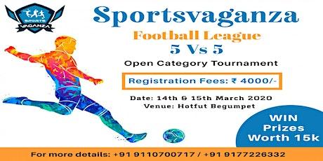 Sportsvaganza Football Tournament tickets