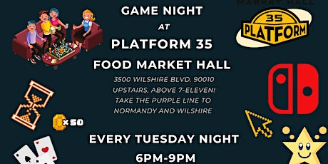 Game Night at Platform35 tickets