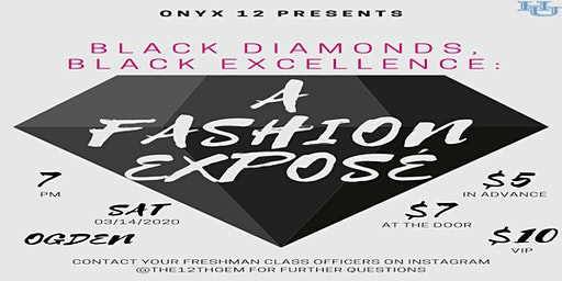 Black Diamonds, Black Excellence: Fashion Exposé