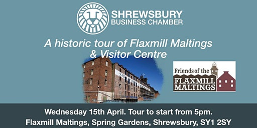 A historic tour of Flaxmill Maltings & Visitor Centre