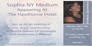Messages from Heaven with Sophia New York Medium