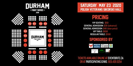 Durham Fight Series: Kalsamrit Fight Night tickets