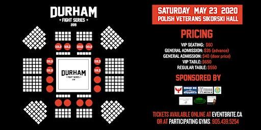 Durham Fight Series: Kalsamrit Fight Night