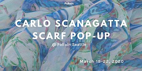 Carlo Scanagatta Scarf Pop-Up Shop tickets