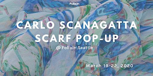 Carlo Scanagatta Scarf Pop-Up Shop