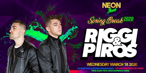 Riggi & Piros at The Wave Nightclub Spring Break
