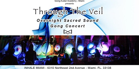 Through the Veil - Overnight Sacred Sound Gong Concert - tickets