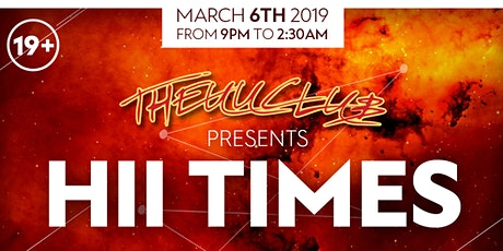 THEUUCLUB PRESENTS: HII TIMES tickets