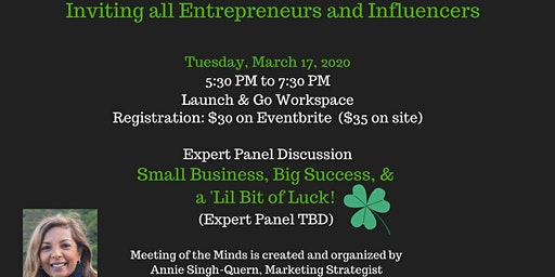 Meeting of the Minds for Entrepreneurs and Influencers
