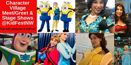 Character Village Meet/Greet & Stage Shows @KidFest!
