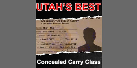 Concealed Carry Class tickets