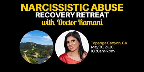 Narcissistic Abuse Recovery Retreat with Dr. Ramani Durvasula tickets