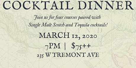 Zeppelin Presents... Barley and Agave Cocktail Dinner tickets