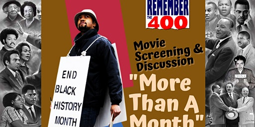 More Than A Month - Movie Screening & Discussion