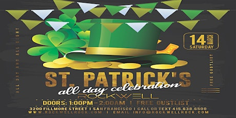 St. Patrick's All Day Celebration at Rockwell SF tickets