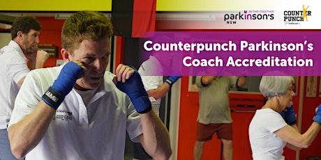 Counterpunch Parkinson's Coach Accreditation tickets