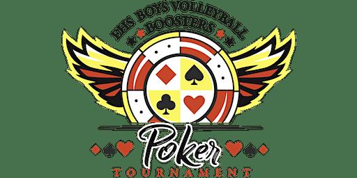 Poker Tournament Benefiting Estancia Boys Volleyball