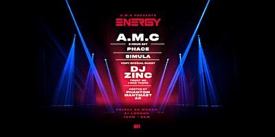 A.M.C presents Energy
