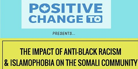 The Impact of Anti Black Racism and Islamophobia on the Somali Community tickets