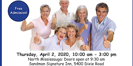 Carp Mississauga's Senior Health Expo — Aging with Vitality  tickets