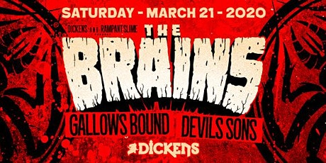 The Brains w/ Gallows Bound, The Devil's Sons tickets