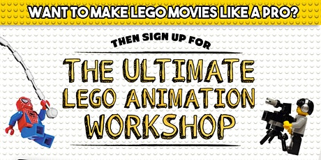 SLC Spring Break Camp- Stop Motion Animation Intermediate Course tickets