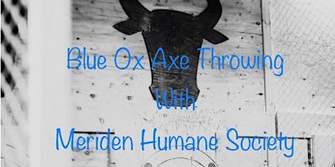 Axe Throwing with Meriden Humane Society