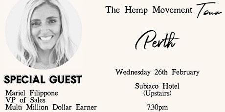 Hemp Movement Business Launch tickets