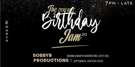 The Itchy Nutz Scratch Jam : Bday Edition tickets