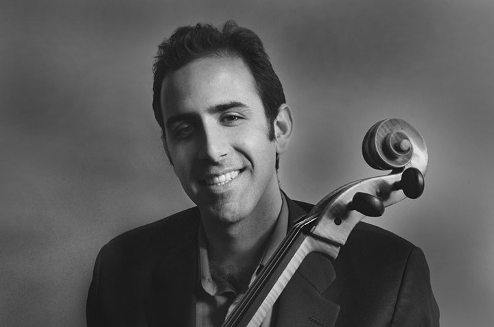 Isaac Pastor-Chermak performs Bach's Six Suites for Cello image