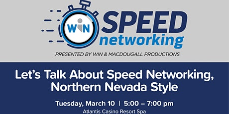 WIN Speed Networking Event tickets