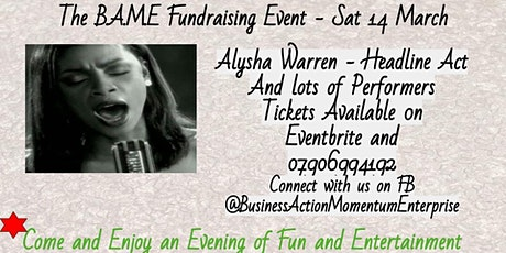 B.A..M.E Fundraising Evening - March 2020 tickets
