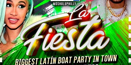 La Fiesta #boatparty tickets